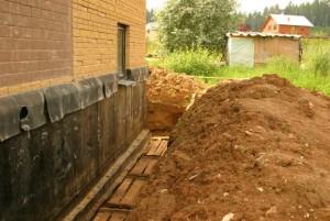 Дом на глинистой почве