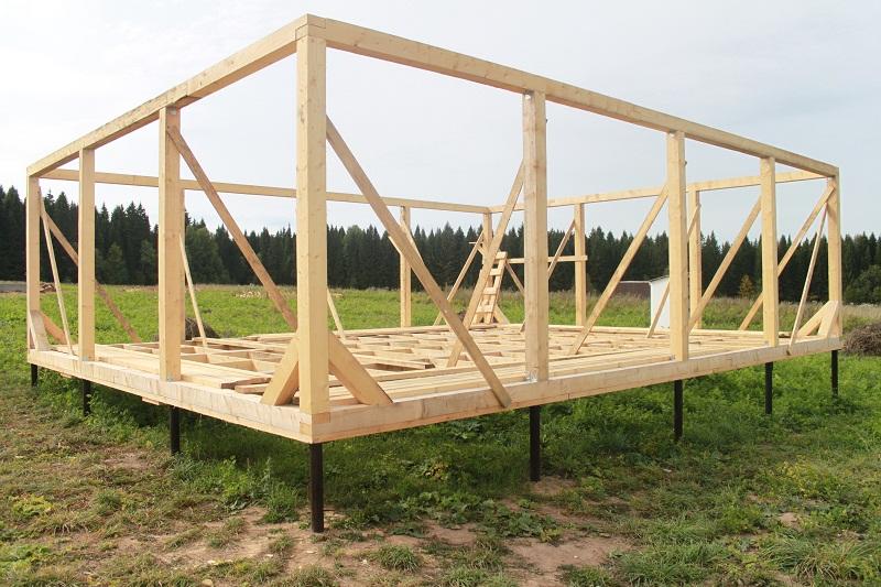 Как Построить Деревянный Каркасный Дом Своими Руками Пошаговая Инструкция - фото 6