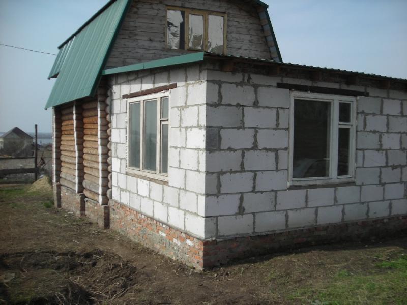 Деревянный пристрой к дому своими руками
