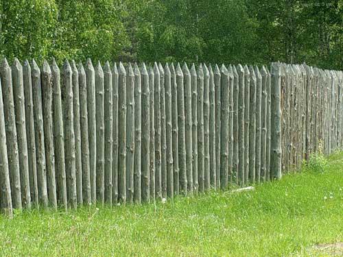 Самый дешевый забор своими руками фото фото 754