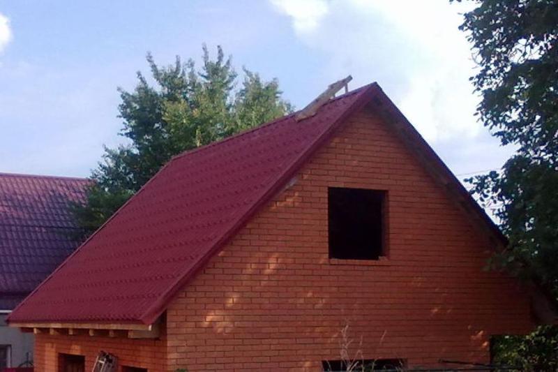 Крыша с фронтонами своими руками фото 895