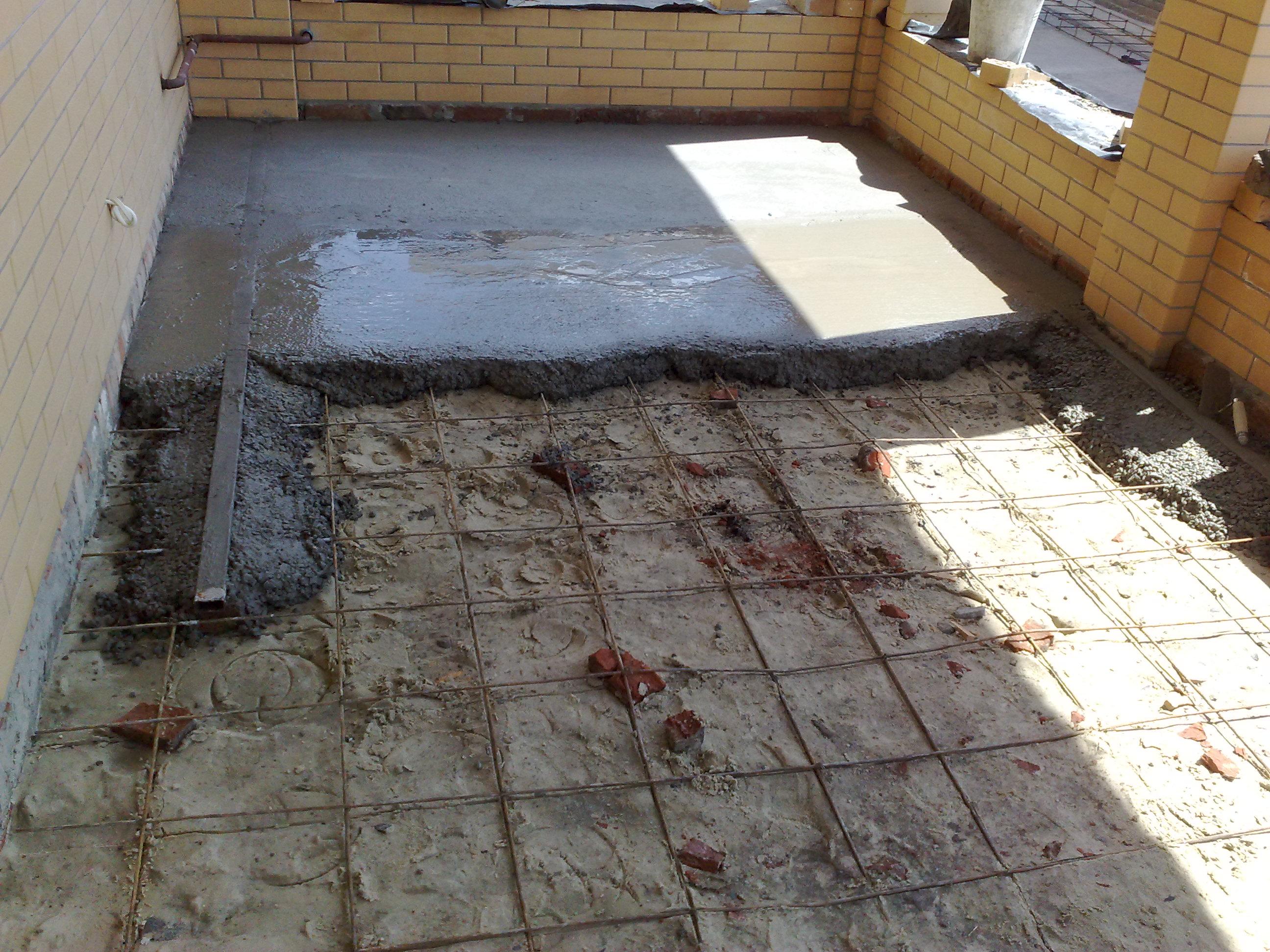 Как сделать бетонные перекрытия своими руками