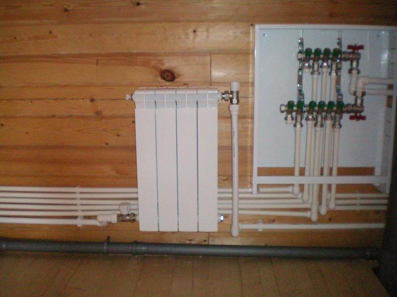 Отопление частного дома полипропилен своими руками 62