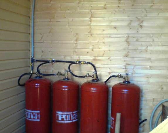 котельные на сжиженном газе газгольдеры