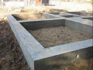 есть типы фундаментов для частного дома