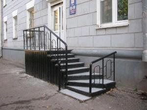 Готовые металлические лестницы