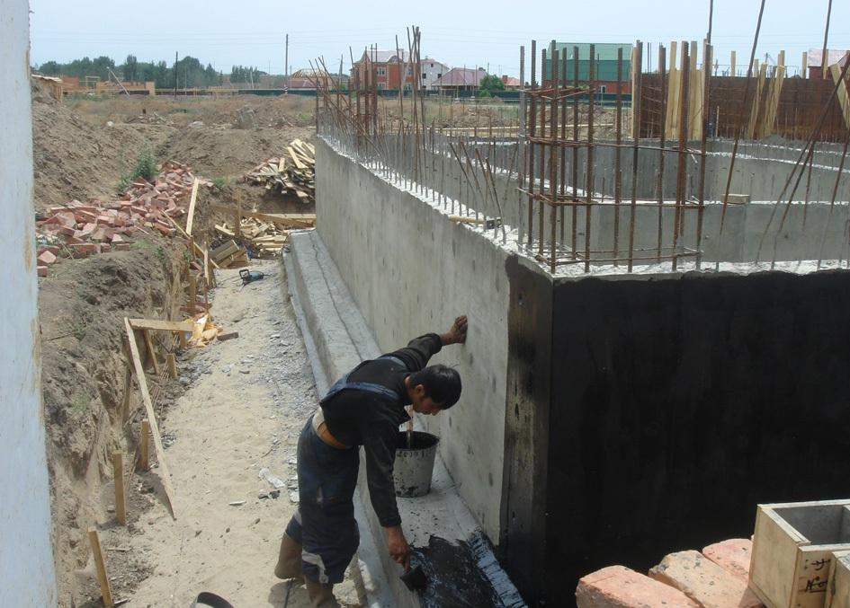 Обмазочная гидроизоляция фундамента видео мастика битумная для вертикальной гидроизоляции