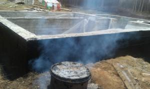 Пошаговая гидроизоляция фундамента при отрицательных температурах (1)