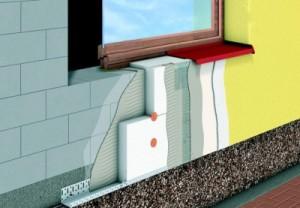 Виды систем утепления фасадных стен