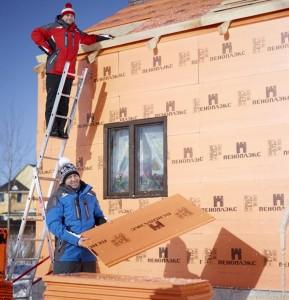 Пошаговое утепление дома снаружи пеноплексом