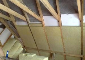 утепление крыши мансарды изнутри своими руками