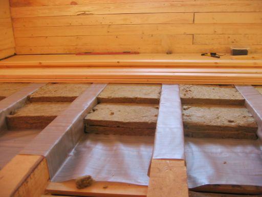 Чем утеплять полы в деревянном доме своими руками