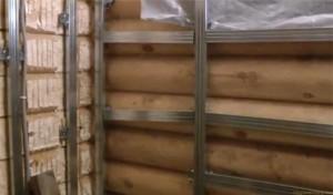 Правильное утепление бревенчатого дома