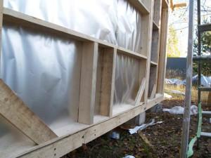 Защита теплоизоляции от влаги