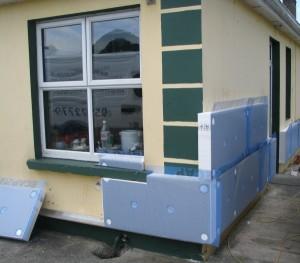 Как подготовить фасад к утеплению пеноплексом
