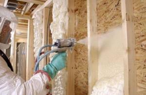Как делается утепление стен пенополиуретаном своими руками