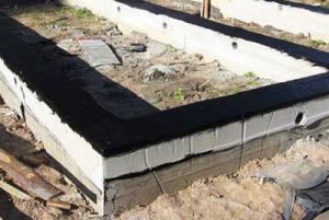 гидроизоляционные материалы советуют выбирать для фундаментов