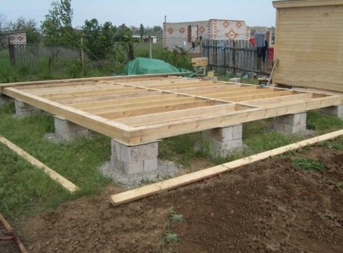 Как сделать дешевый сборный блочный фундамент для дома
