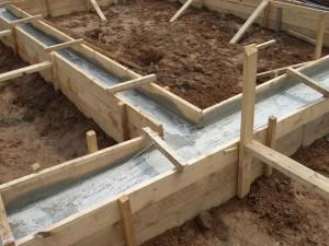 фундамент можно сделать для бани 3×4 своими руками