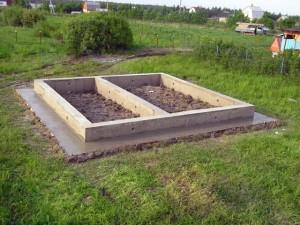 Какой фундамент сделать для бани 3×4