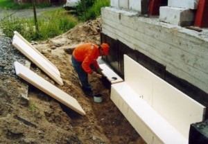 гидроизоляция фундамента дома своими руками