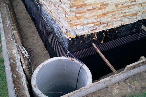 Когда делается гидроизоляция фундамента гидроизоляция бетонных бассейнов для рыбы
