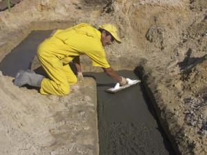 Фундамент на мелкозернистом песке