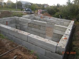 Как залить фундамент с подвалом под дом