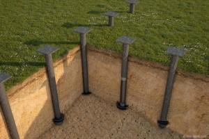 Как можно построить дом без фундамента своими руками