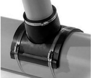 Как правильно делается врезка в канализационную трубу 110 мм