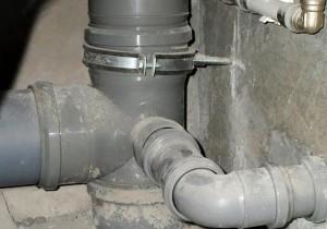 врезка в канализационную трубу 110 мм
