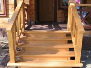 Как сделать деревянные ступени для крыльца своими руками