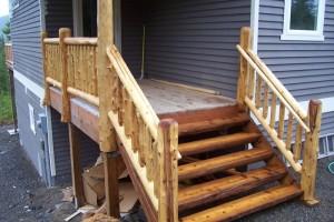 Как сделать деревянные ступени для крыльца