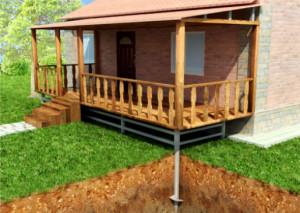 Как сделать крыльцо-веранду к частному дому
