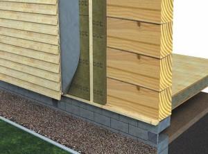 Утепление деревянного дома пенопластом или пеноплексом