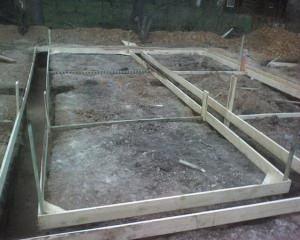 Как сделать фундамент для бани 4х6 своими руками
