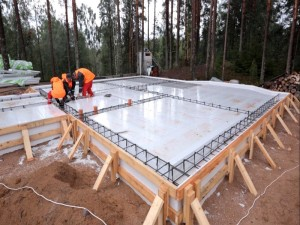 Как сделать фундамент по технологии шведская плита