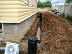 Пошаговый монтаж ливневой канализации своими руками