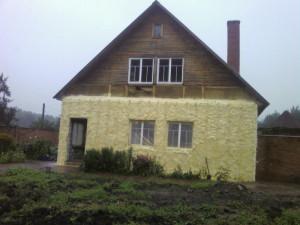 Самостоятельное утепление фасада деревянного дома
