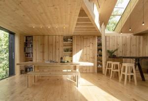 дизайн выбрать для деревянного дома из бруса